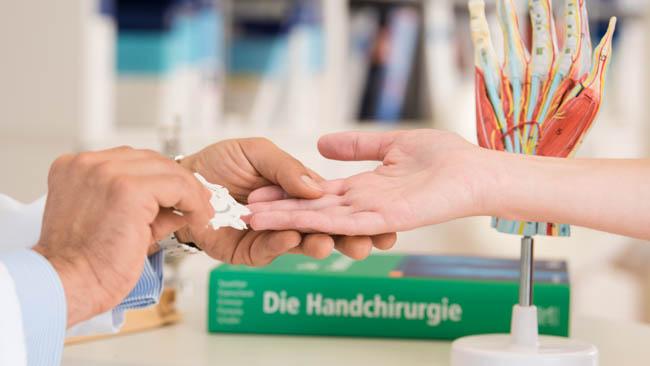 Handchirurgie kliniken