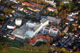 Das Klinikum in seiner heutigen Größe