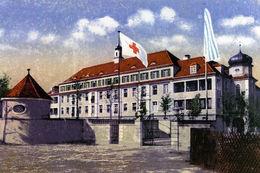 """Der """"Krankenhausneubau"""" nach seiner Fertigstellung im ersten Weltkrieg"""