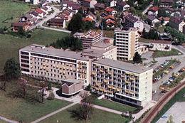 Das Städtische Krankenhaus nach seiner Neueröffnung 1967